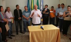 Governador Confúcio Moura fala sobre força tarefa